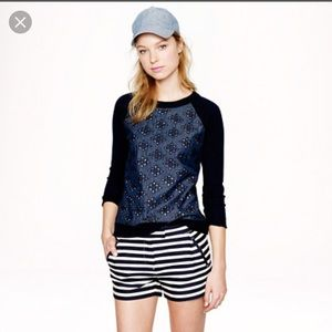The Limited High Waisted Nautical Shorts